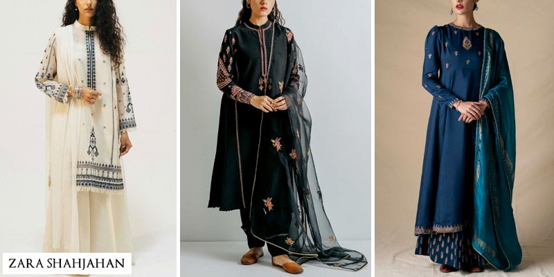 Zara Shahjahan Autmn Winter Collection 2021