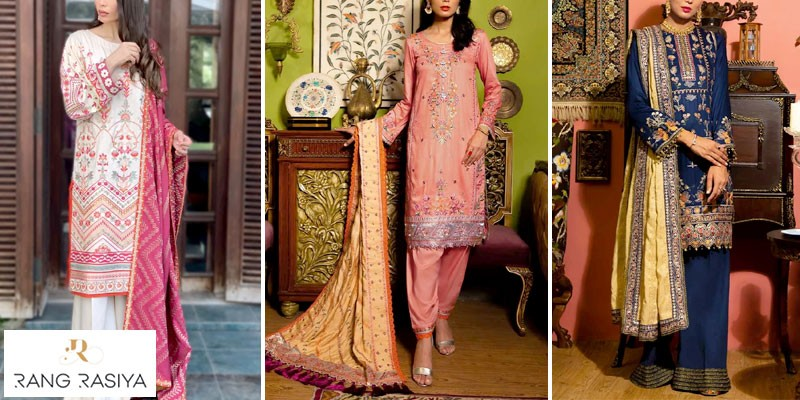 Rangrasiya Zinnia Linen Winter Collection 2021