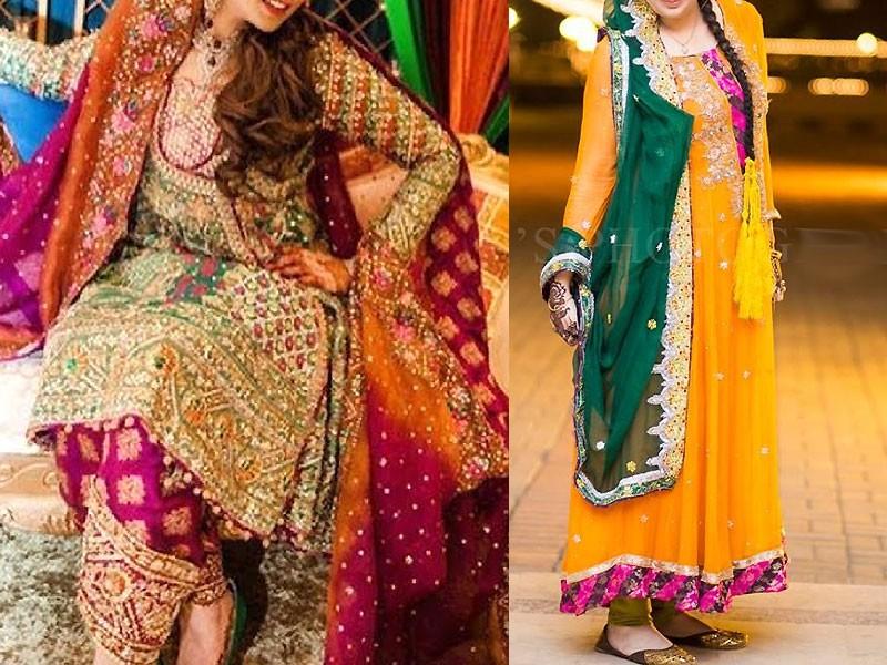 88bf9df847 Best Ways to Select Pakistani Bridal Mehndi Dresses | PakStyle ...
