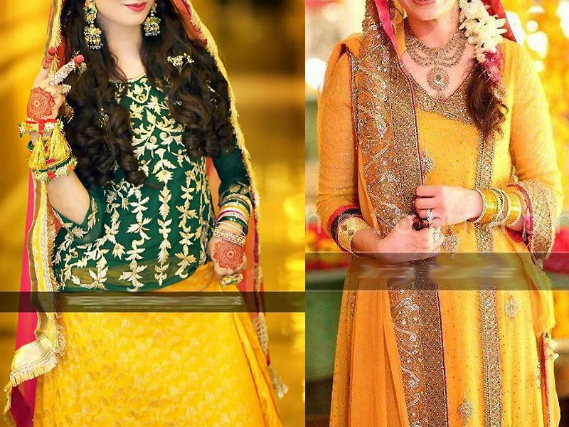Best Ways to Select Pakistani Bridal Mehndi Dresses
