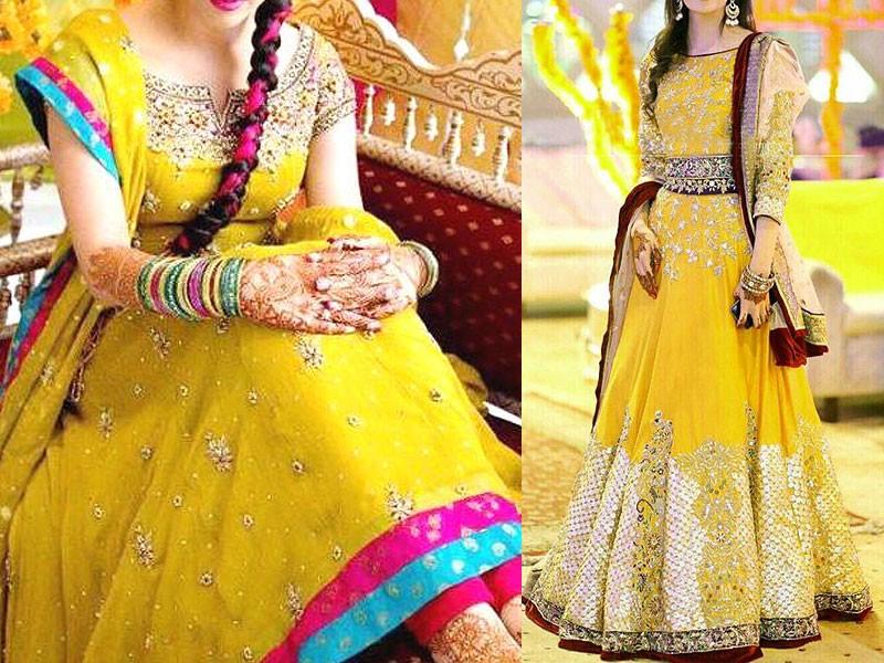 Best Ways to Select Pakistani Bridal Mehndi Dresses