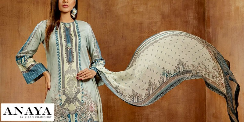 Anaya Unstitched Printed Lawn Collection 2021