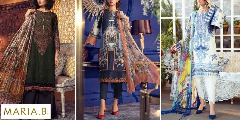 Maria B Unstitched M.Prints Summer Collection 2021