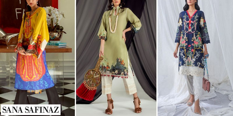 Sana Safinaz Ready to Wear Summer Collection 2021