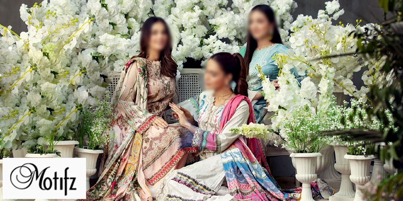 Motifz Summer Lawn Collection 2021