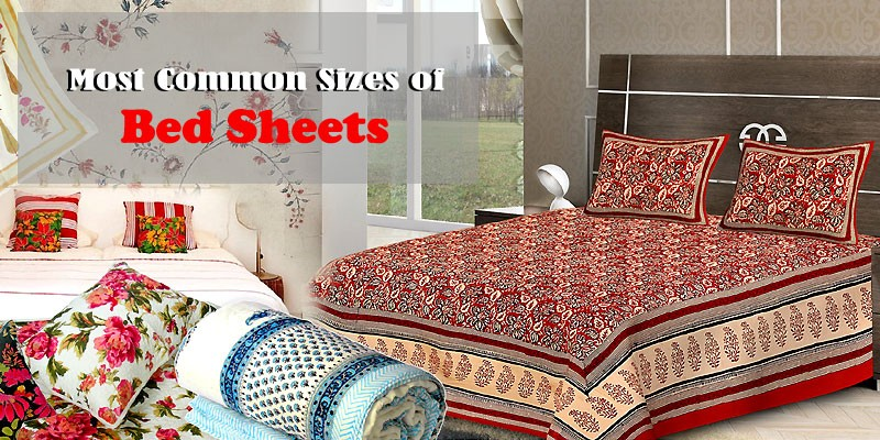 The Most Common Sizes Of Bed Sheets