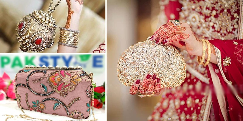 Fancy Party Wear & Bridal Clutches 2021 in Pakistan