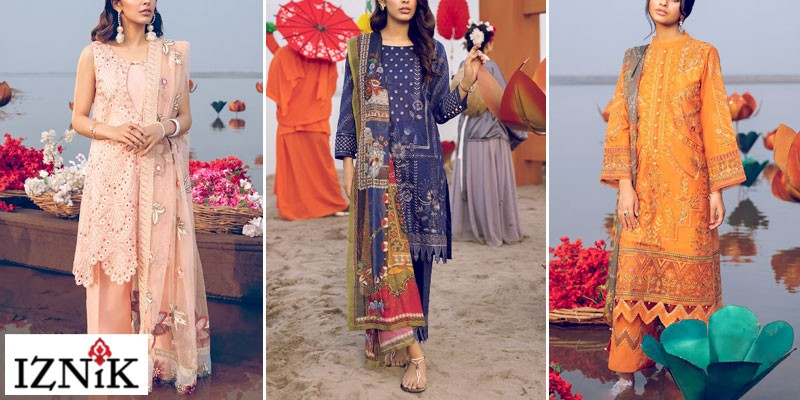 Iznik Luxury Summer Lawn Collection 2021