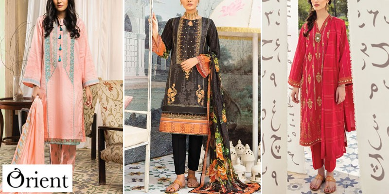 Orient Textiles Summer Lawn Collection 2021