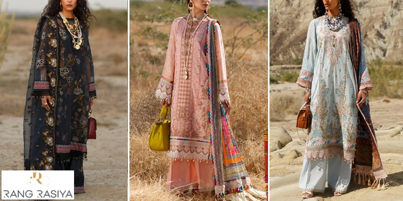 Rang Rasiya Premium Summer Lawn Collection 2021