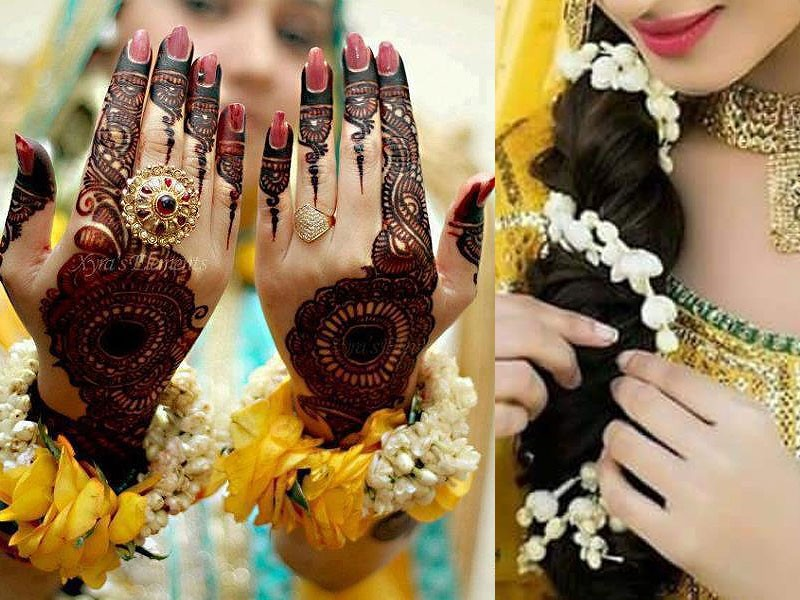 5 Accessories to Pair-up with Mehndi Dress