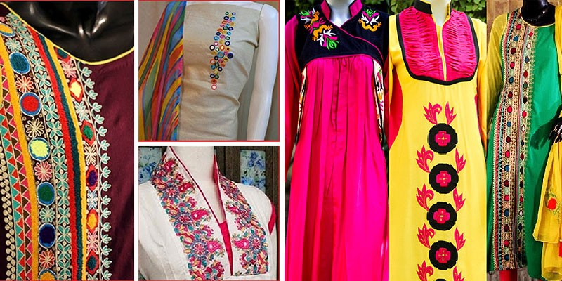 5 Latest Trends for Womens Lawn Dresses Necklines  7e6fc425f5