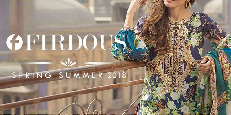 Firdous Spring Summer Lawn Collection 2018