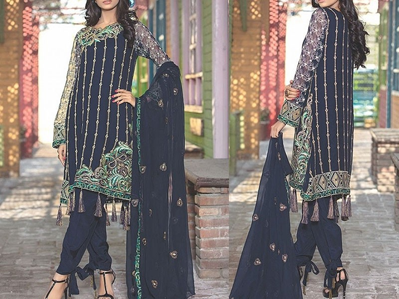 Motifz Bemberg Crinkle Formal Wear Collection 2018