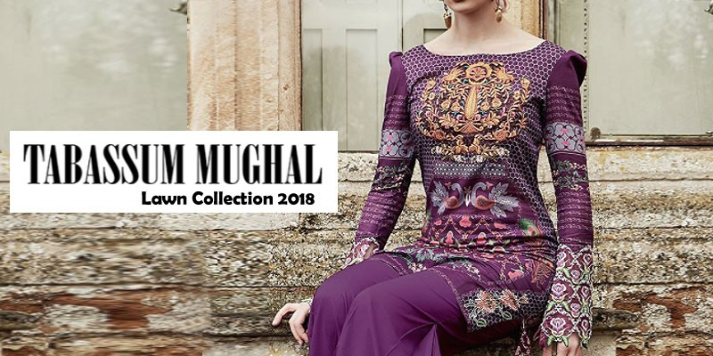 Tabassum Mughal Spring Summer Lawn Collection 2018