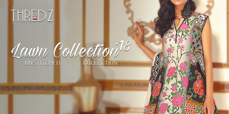 Thredz Summer Lawn Collection 2018