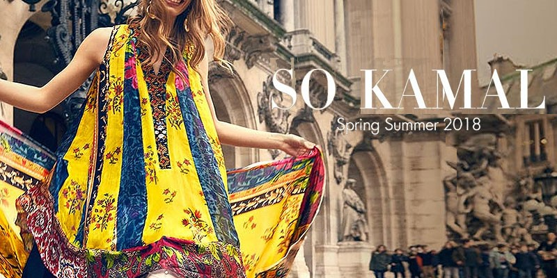 So Kamal Summer Lawn Collection 2018