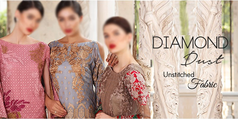 Charizma Diamond Dust Chiffon Collection Vol-1 2018
