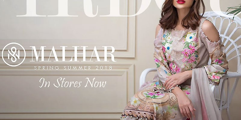Firdous Malhar Lawn Collection 2018