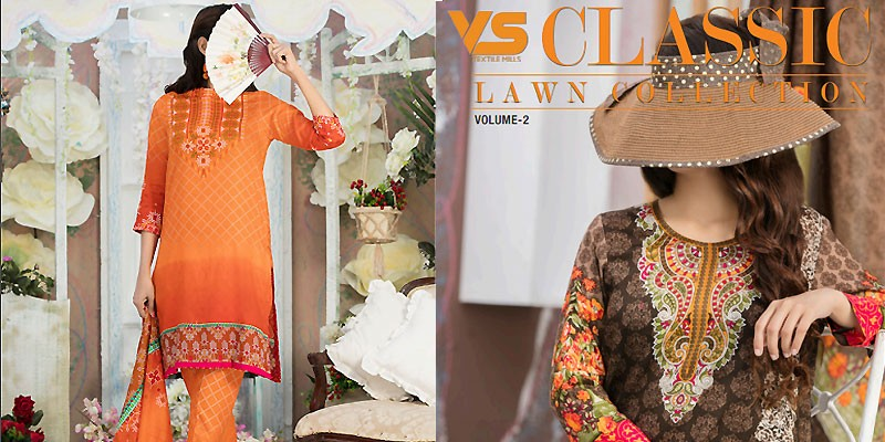 VS Classic Lawn Collection 2018 Vol-2