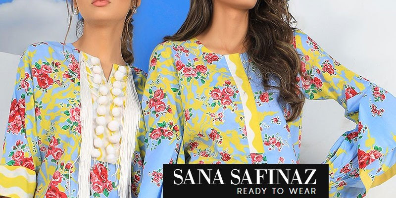Sana Safinaz Embroidered Ready-to-Wear Collection