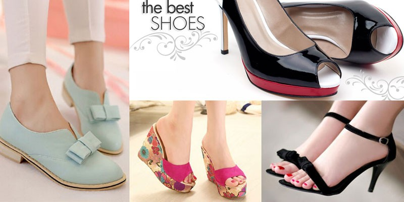 Different Types of Ladies Shoes in