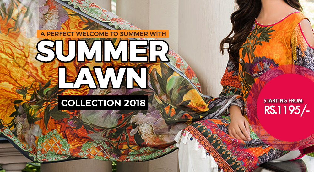 Summer Lawn Collection 2018