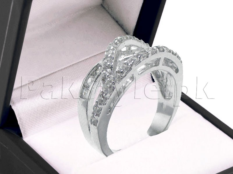 Elegant Silver AD Ring Price in Pakistan