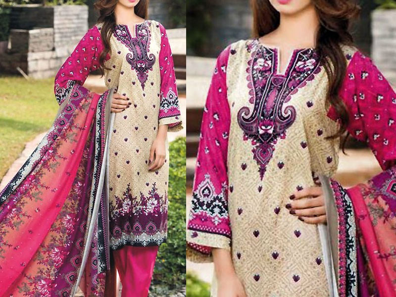Star Royal Linen Suit with Shawl Dupatta 12007-B