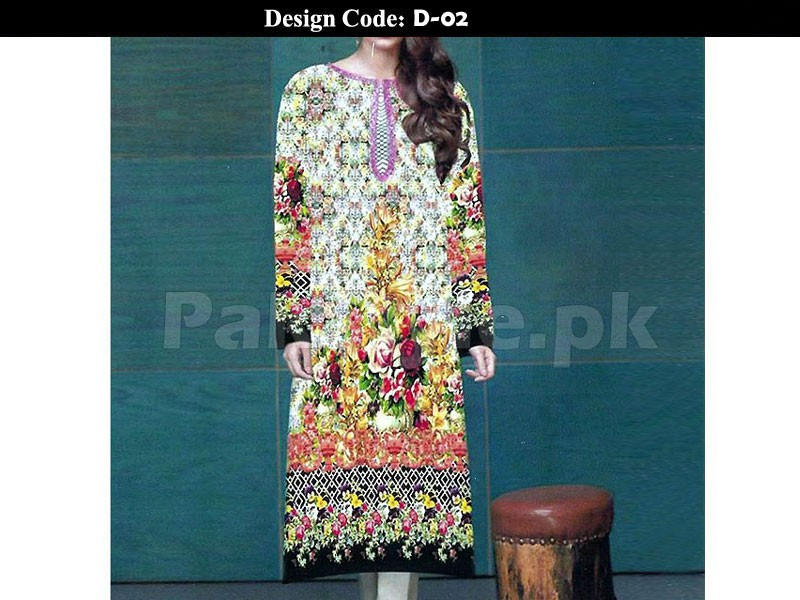 Pack of 2 Stitched Digital Kurti of Your Choice