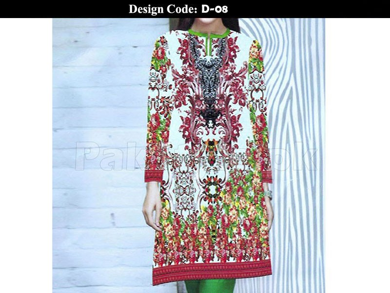 Pack of 2 Stitched Digital Kurti of Your Choice in Pakistan