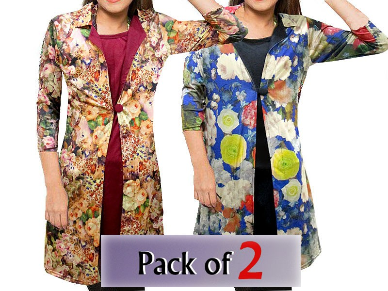 Women's Button Up Fleece Winter Coat Price in Pakistan