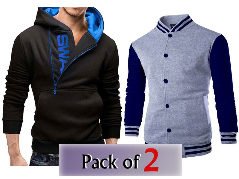 Pack of 2 Varsity Jacket & Swag Hoodie