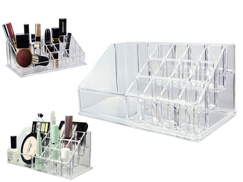 Acrylic Makeup Organizer Brush Lipstick Holder Price in Pakistan