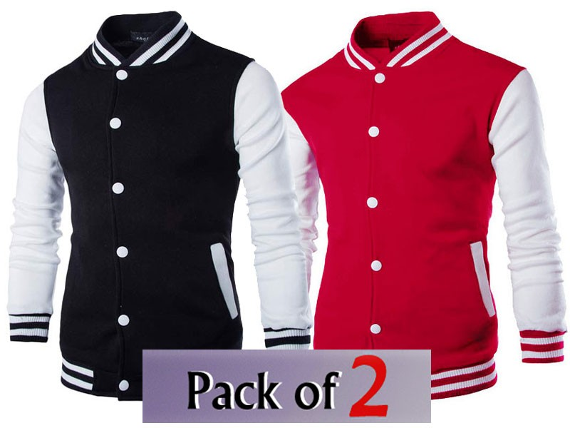 Pack of 2 Varsity Jackets of Your Choice Price in Pakistan