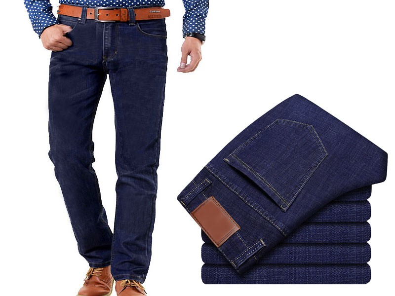 Men's Straight Fit Jeans - Blue Price in Pakistan