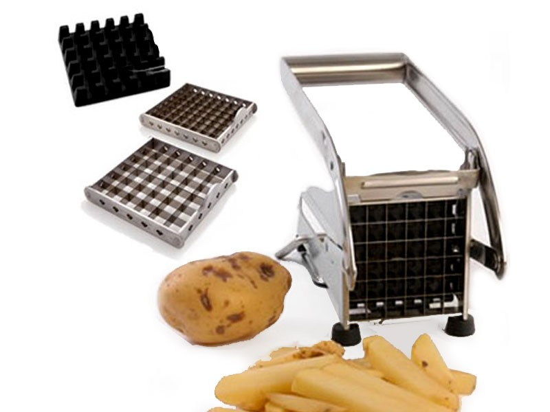 Hand Operated Potato Chipper Machine