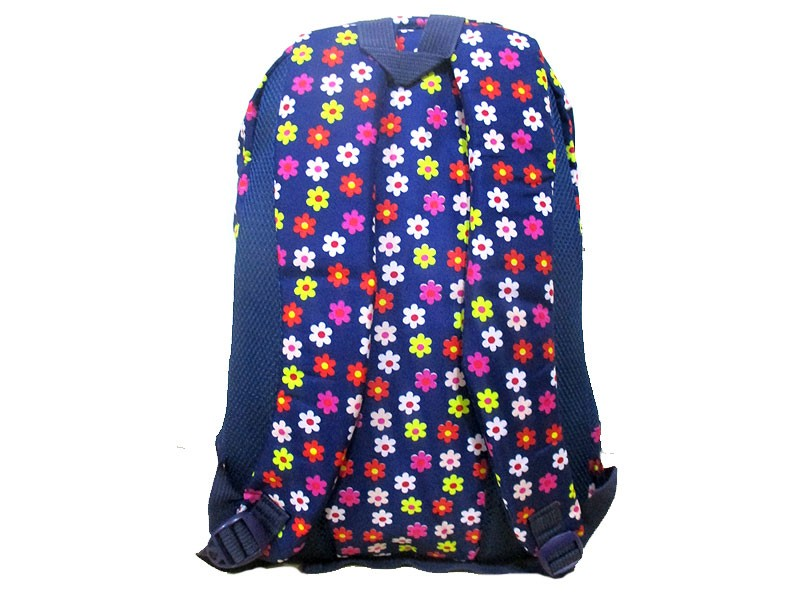 Floral Print School Bag for Girls