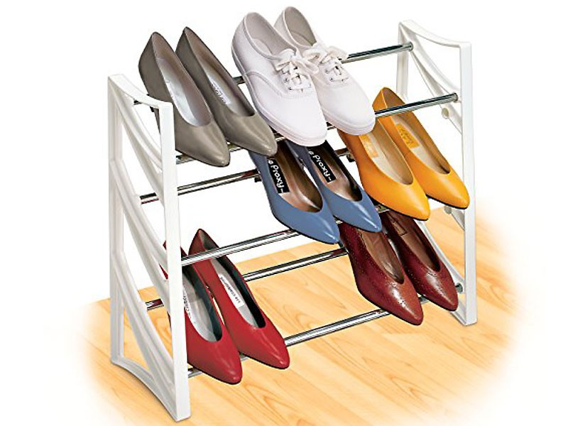 Portable Shoe Rack Up to 9 Pair