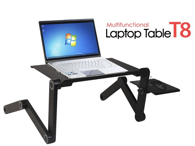 Multifunctional laptop table with cooling pad price in for E table price in pakistan