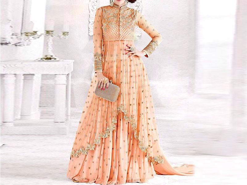 Embroidered Maxi Dress NA-KD.COM