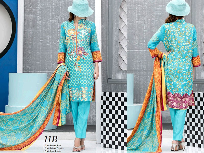 VS Classic Lawn 2018 with Lawn Dupatta VS-11B