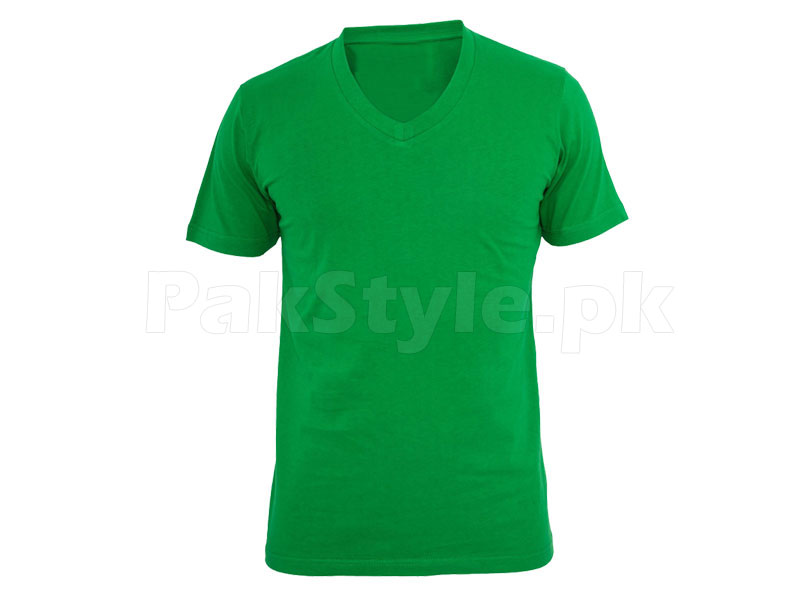 3 V-Neck Half Sleeves T-Shirts in Pakistan