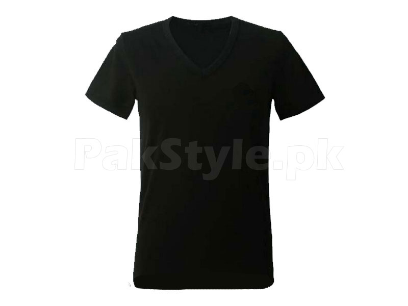 4 V-Neck Half Sleeves T-Shirts in Pakistan