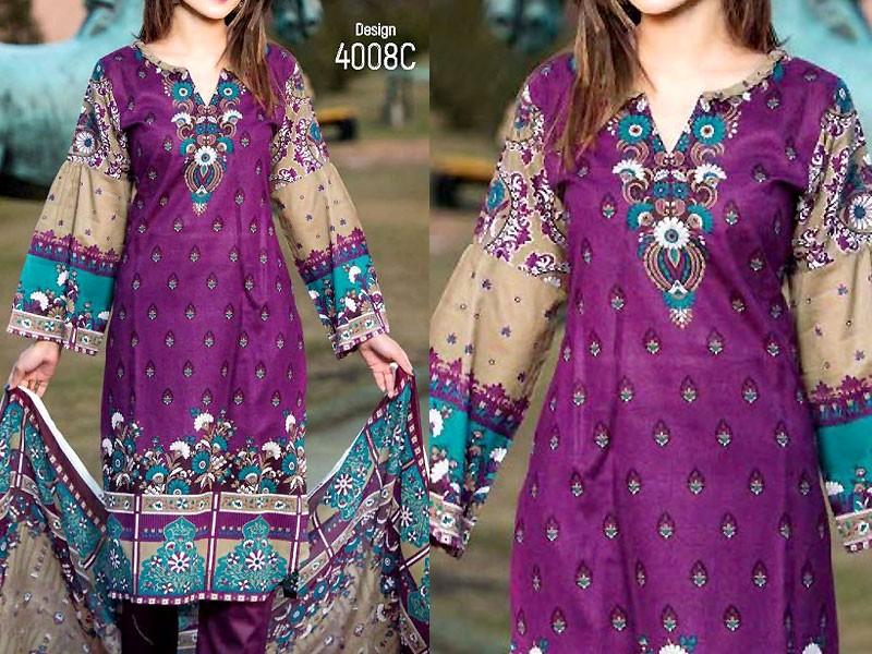 Star Classic Lawn Dress 2018 4008 C Price In Pakistan M010719