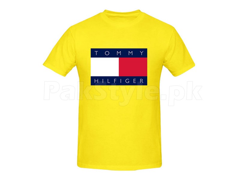 tommy hilfiger graphic t shirt price in pakistan m001085 check prices specs reviews. Black Bedroom Furniture Sets. Home Design Ideas
