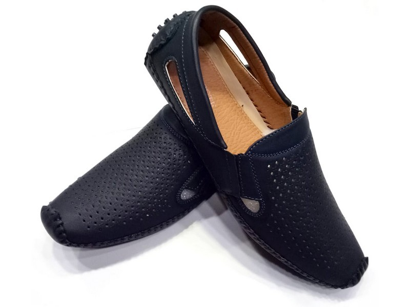 Dotted Design Men's Formal Loafer Shoes