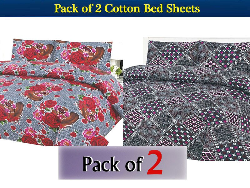 King Size Cotton Bed Sheet Price in Pakistan