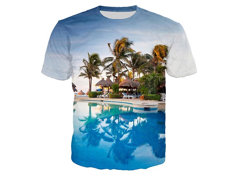 Imported china fabric digital print t shirt price in for Digital printed t shirts