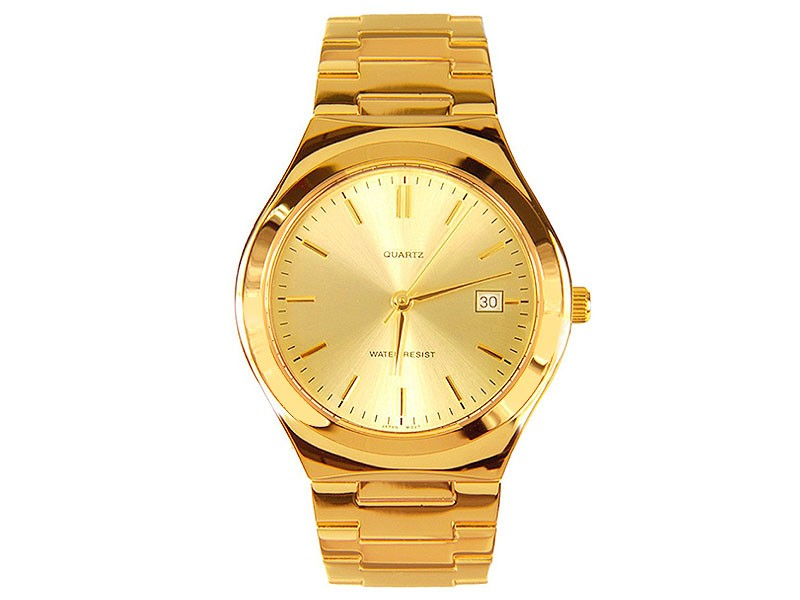 Golden Date Dial Men's Watch